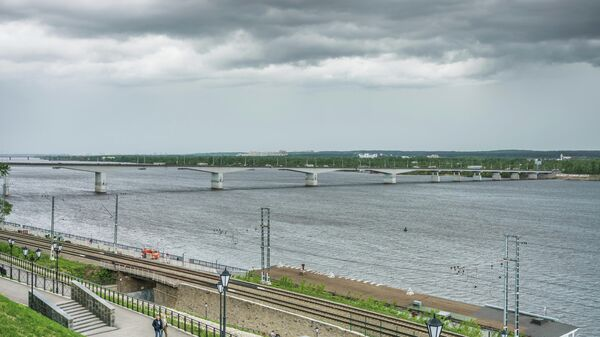Набережная реки Кама в Перми