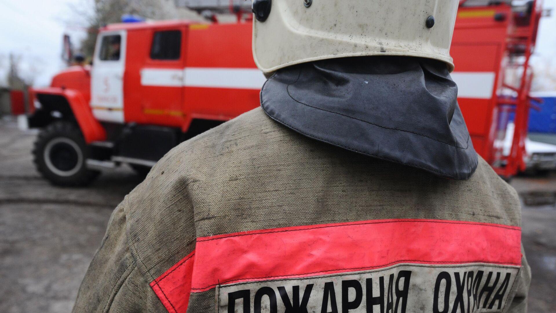 Сотрудник пожарной охраны - РИА Новости, 1920, 30.09.2021