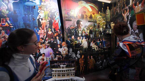 Праздничные мероприятия по случаю 90-летия Театра Российской армии