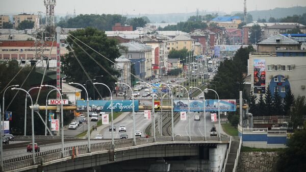 Кузнецкий мост и Кузнецкий проспект в Кемерово