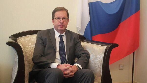 Чрезвычайный и Полномочный Посол Российской Федерации в Демократической Республике Конго Алексей Сентебов