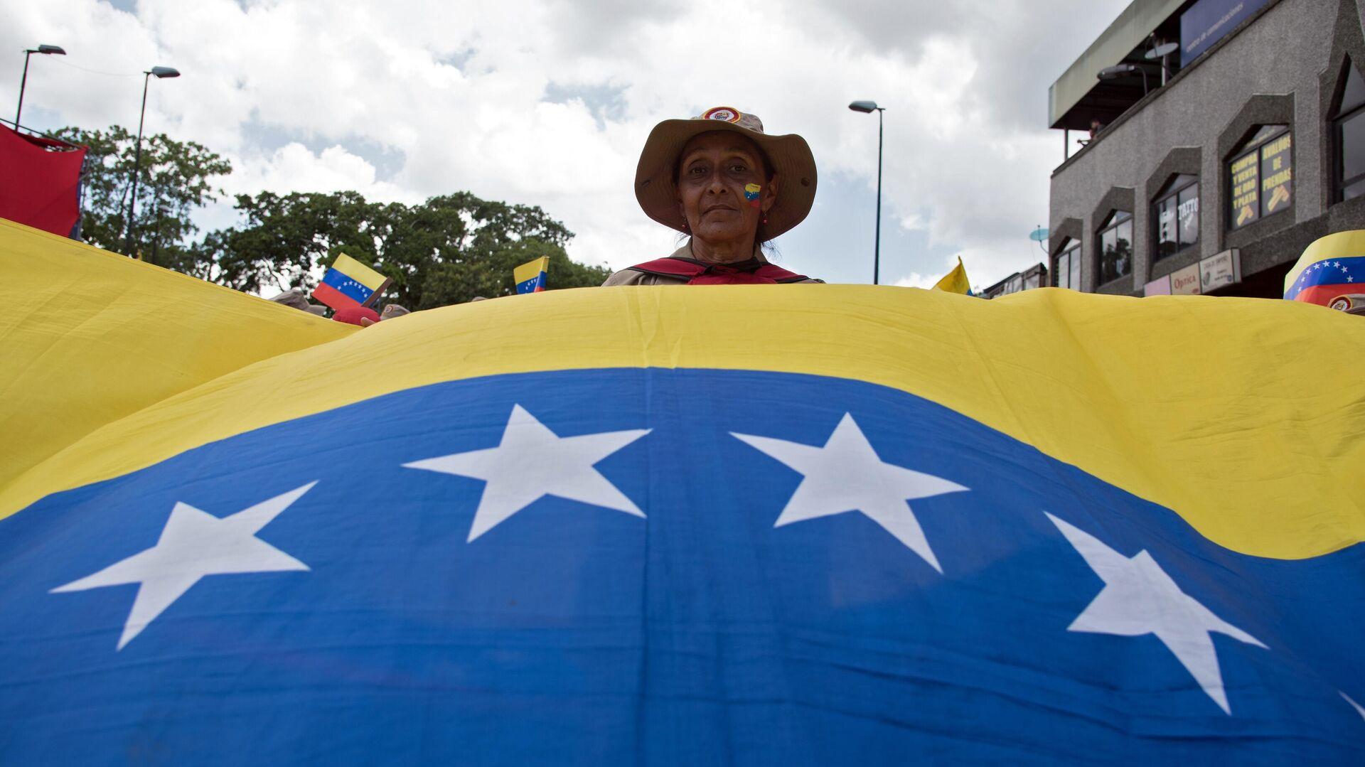 Протесты против санкционной политики США в Венесуэле - РИА Новости, 1920, 06.01.2021