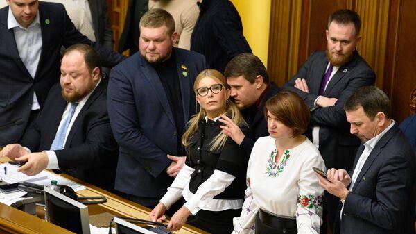Рассмотрение земельной реформы в Верховной раде Украины