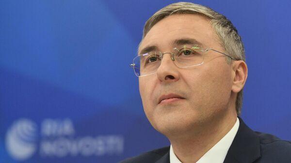Министр науки и высшего образования РФ Валерий Фальков на пресс-конференции в МИА Россия сегодня