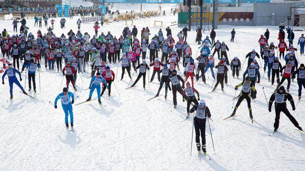 Всероссийская массовая гонка Лыжня России - 2020