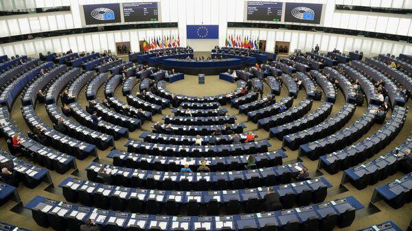 Пленарная сессия Европейского парламента в Страсбурге