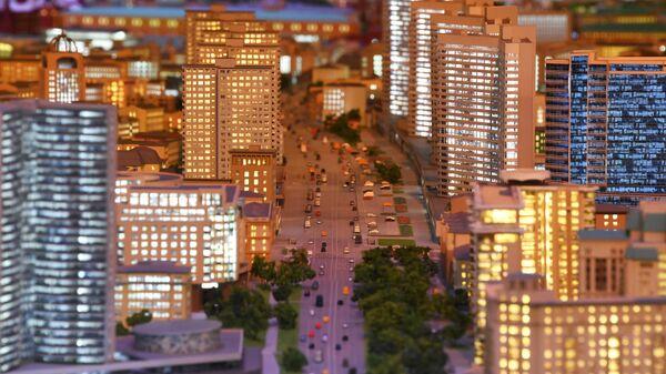 Завершение реконструкции архитектурного макета центра Москвы на ВДНХ