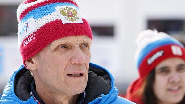 Президент Союза биатлонистов России Владимир Драчёв