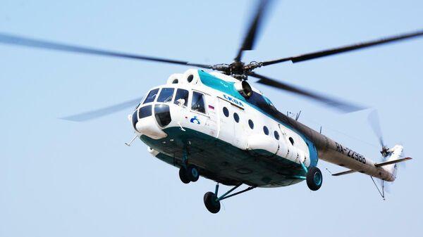Вертолет Ми-8Т авиакомпании Скол