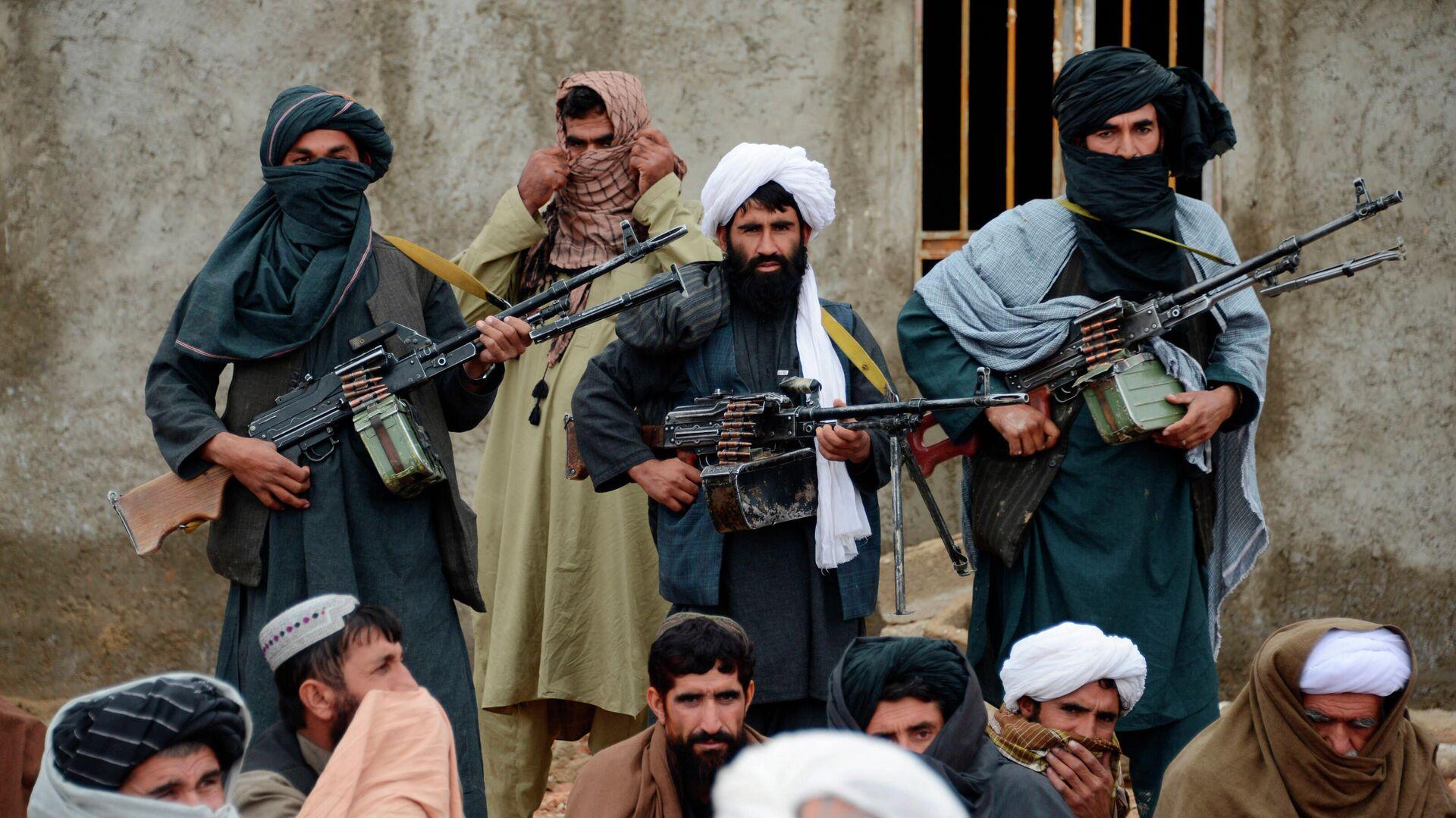 Боевики радикального движения Талибан* в Афганистане - РИА Новости, 1920, 08.07.2021