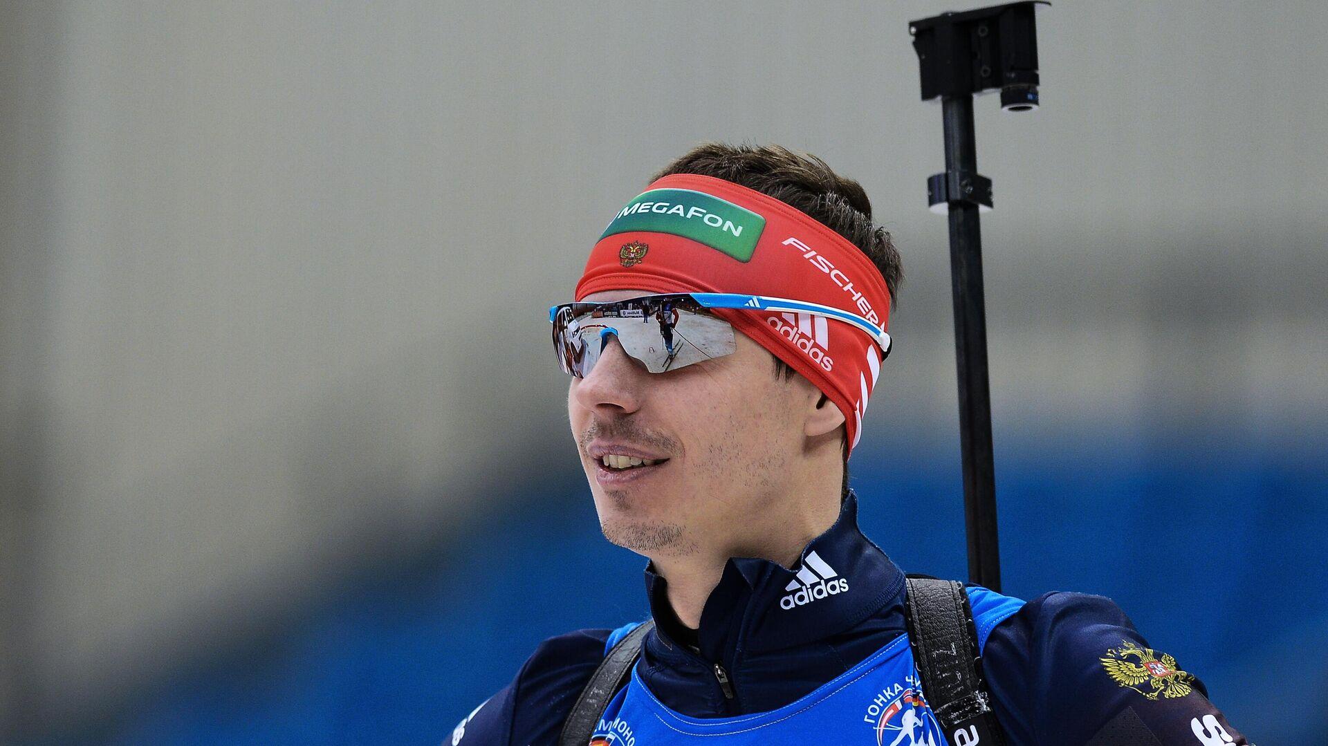 Биатлонист Евгений Устюгов - РИА Новости, 1920, 14.10.2021