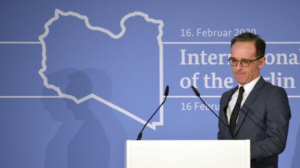 Министр иностранных дел Германии Хайко Маас на Мюнхенской конференции по безопасности