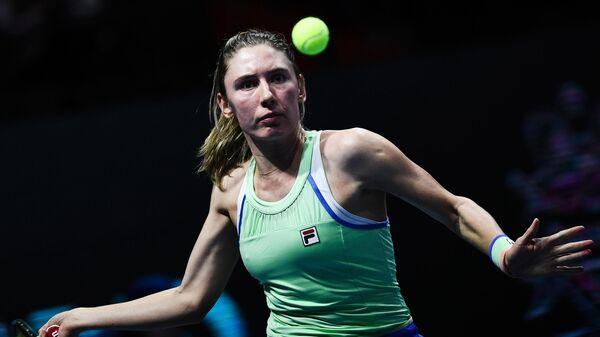 Российская теннисистка Екатерина Александрова