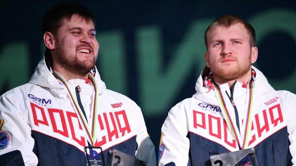 Александр Денисьев и Владислав Антонов