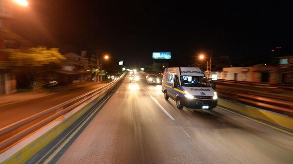 Автомобиль скорой помощи в в Сальвадоре