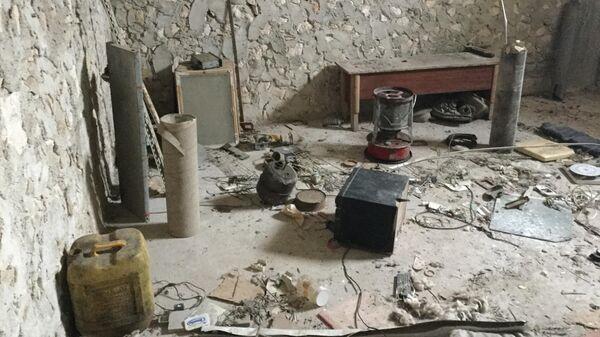 Цех боевиков по производству снарядов в провинции Идлиб