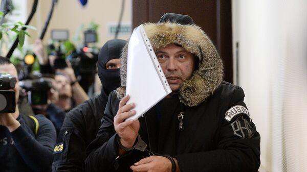 Борис Мазо в суде