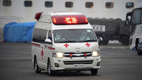 Автомобиль скорой помощи в Японии