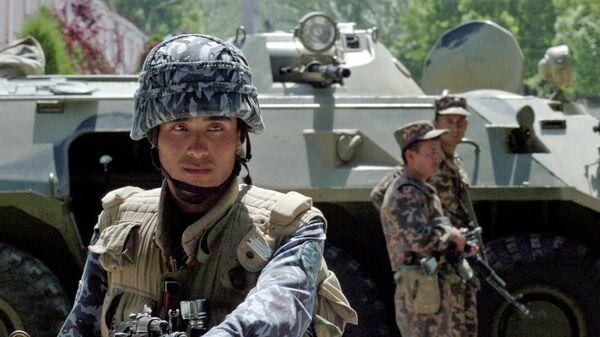Сотрудники спецназа Узбекистана