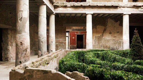 Дома в городе Помпеи, открыте для публики после реставрации