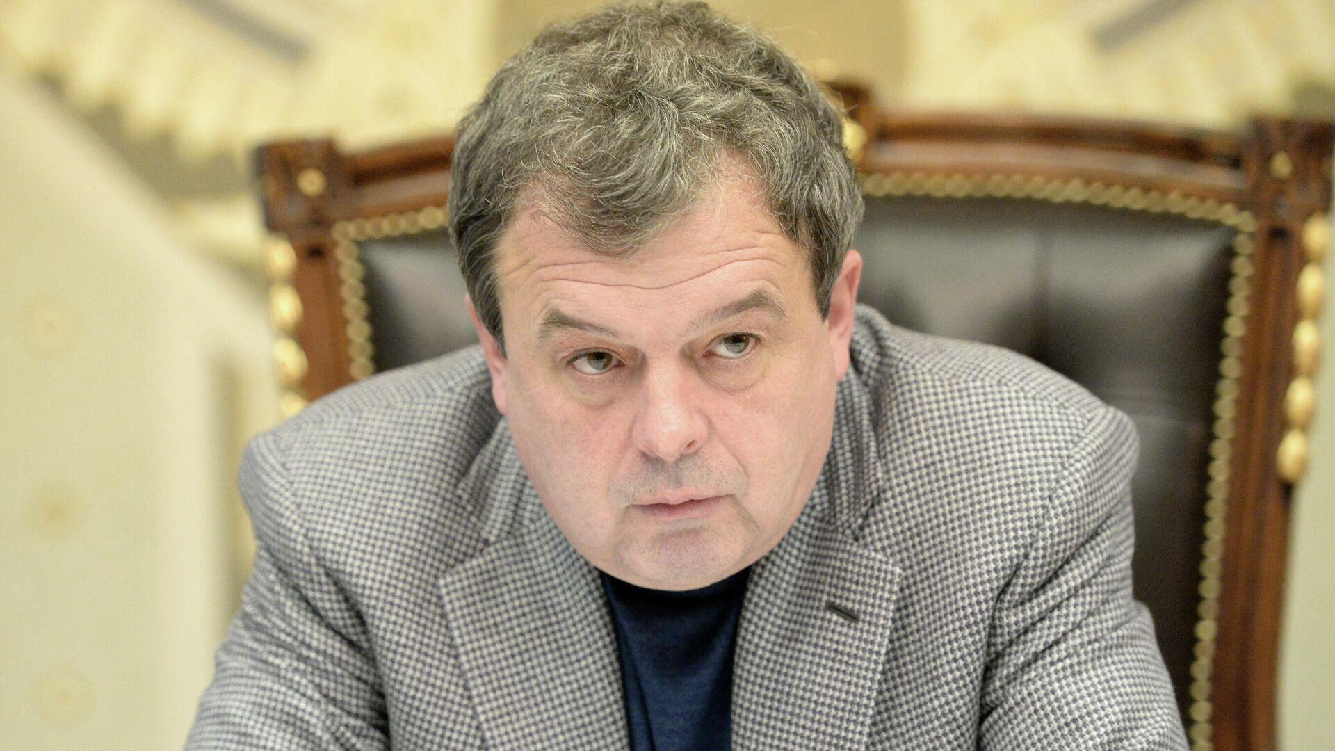 Председатель совета директоров группы компаний СУ-155 Михаил Балакин - РИА Новости, 1920, 24.03.2021