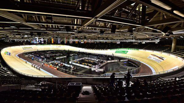Стадион чемпионата мира по велоспорту на треке в Берлине