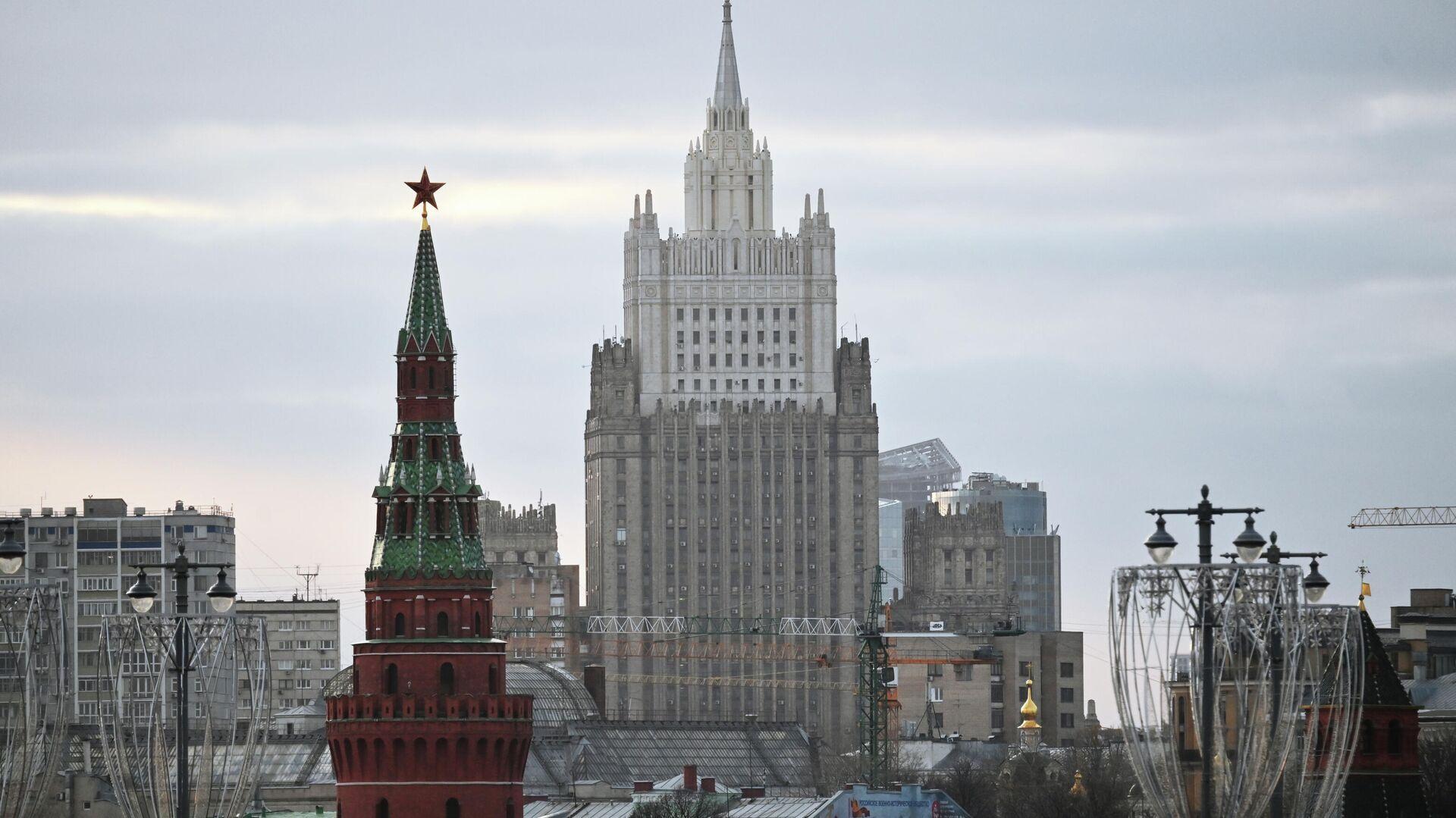 Здание Министерства иностранных дел в Москве - РИА Новости, 1920, 27.01.2021