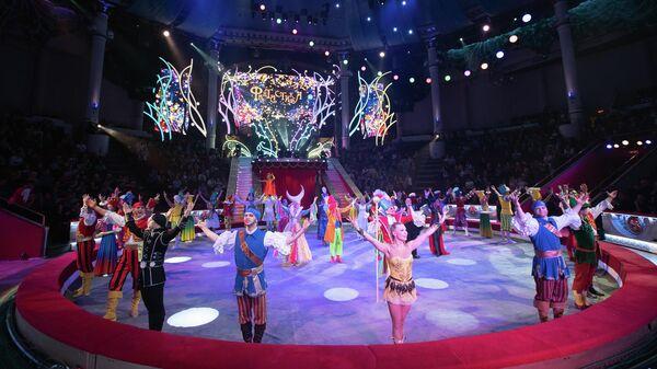 Новая программа Цирка на Цветном бульваре Фантастика