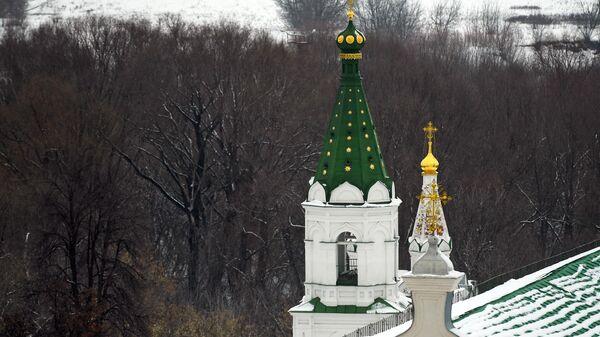 Церковь Святого Духа Спасо-Преображенского мужского монастыря города Рязани