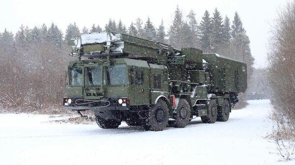 Зенитная ракетная система С-350 Витязь поступила в Воздушно-космические силы РФ. 26 февраля 2020
