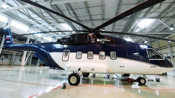 Вертолет Ми-38 с салоном повышенной комфортности