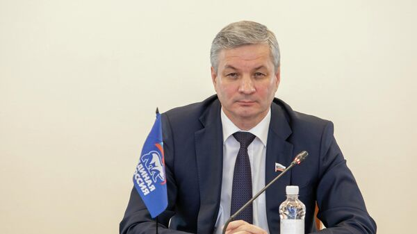 Председатель Заксобрания Вологодской области, лидер фракции Единая Россия Андрей Луценко