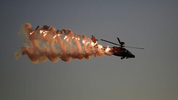 Вертолет Апач ВВС Израиля