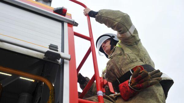 Сотрудник пожарной части