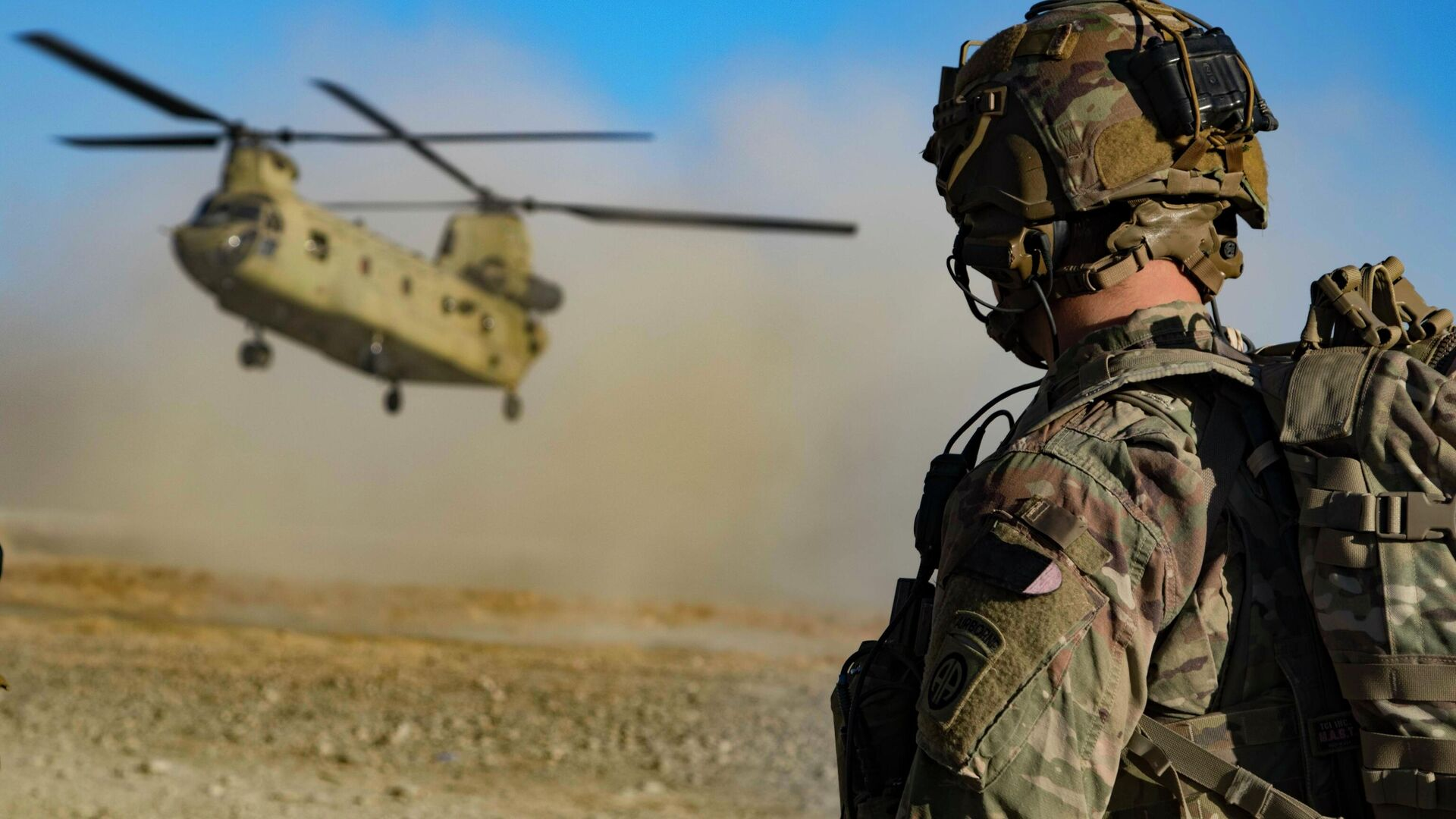 Американские военные на юго-востоке Афганистана - РИА Новости, 1920, 18.05.2021