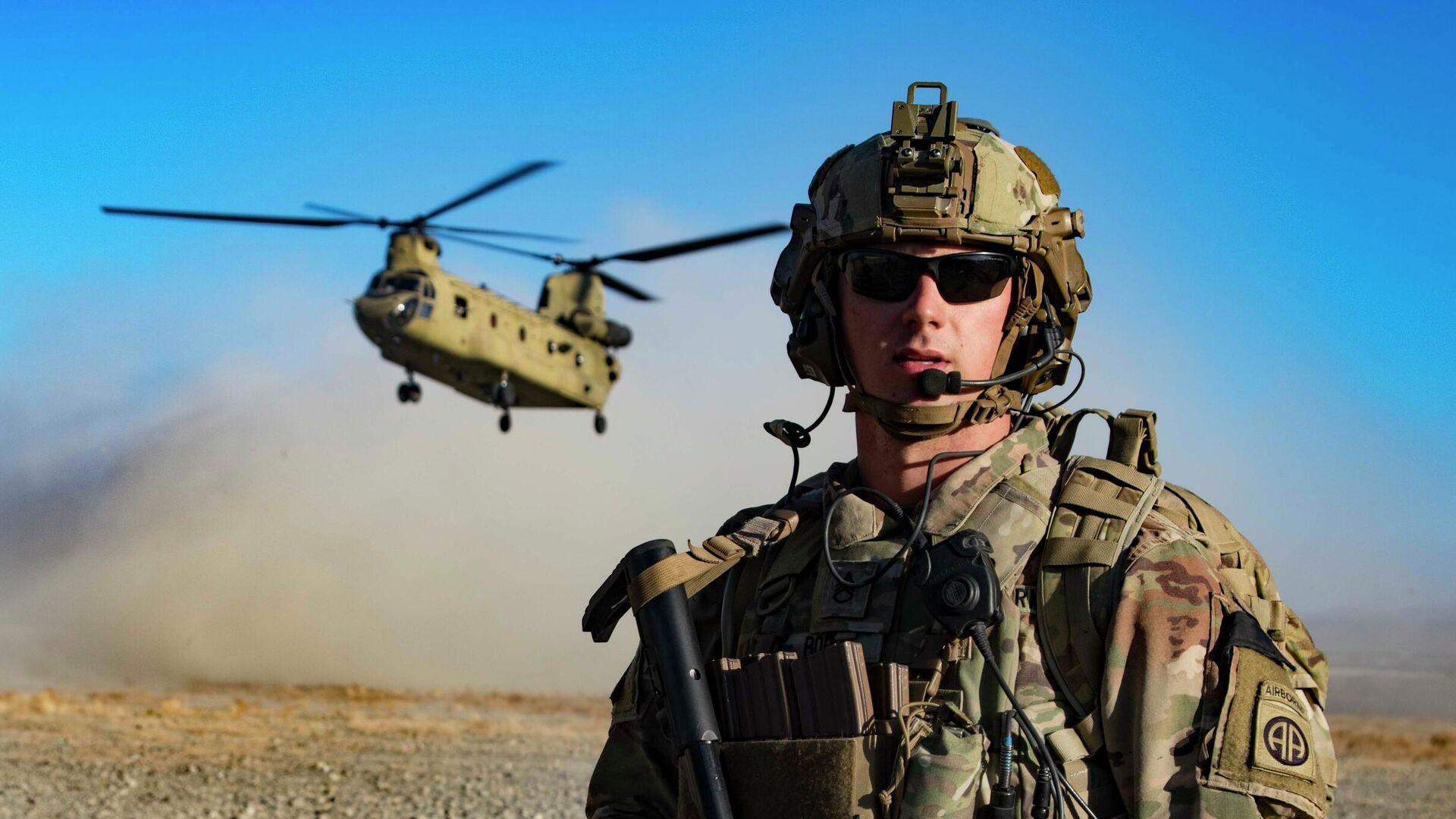 Американские военные на юго-востоке Афганистана - РИА Новости, 1920, 05.07.2021