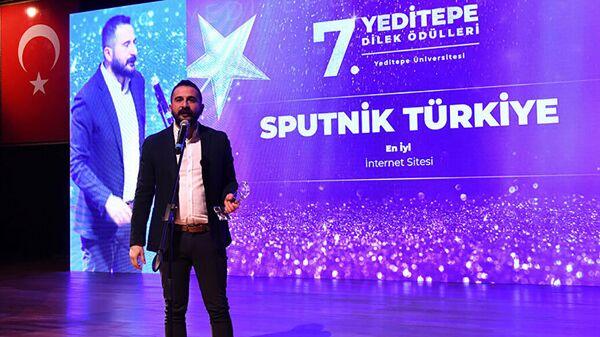 Главный редактор Sputnik Türkiye Махир Бозтепе