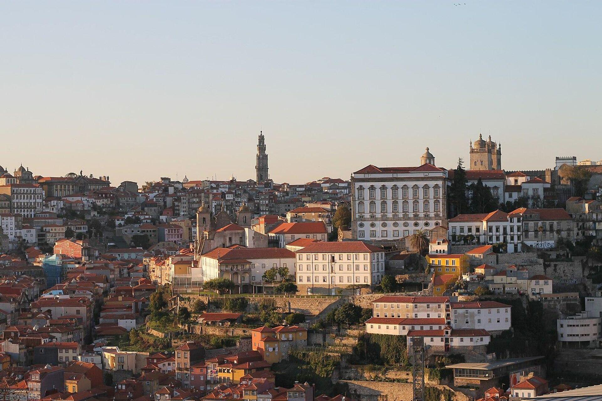 Вид на город Порту в Португалии - РИА Новости, 1920, 29.01.2021