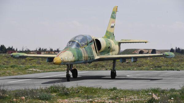 Учебно-боевой самолет Аэро L-39 Альбатрос сирийских военно-воздушных сил