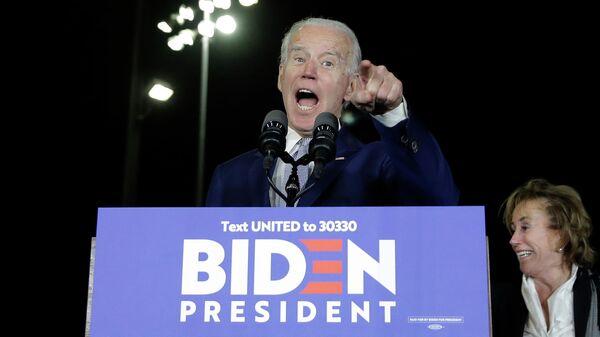 Кандидат в президенты США от Демократической партии, бывший вице-президент Джо Байден