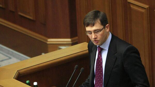 Исполняющий обязанности министра финансов Украины Игорь Уманский