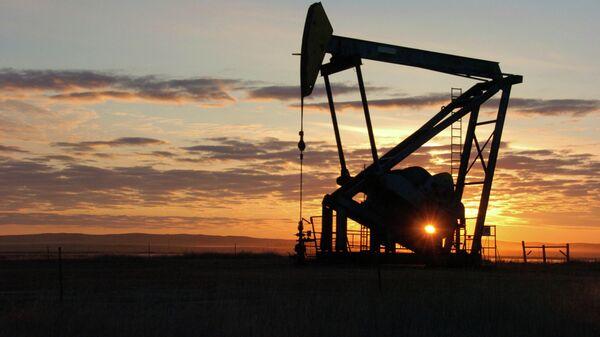 Добыча нефти в Бейнвилле, штат Монтана, США