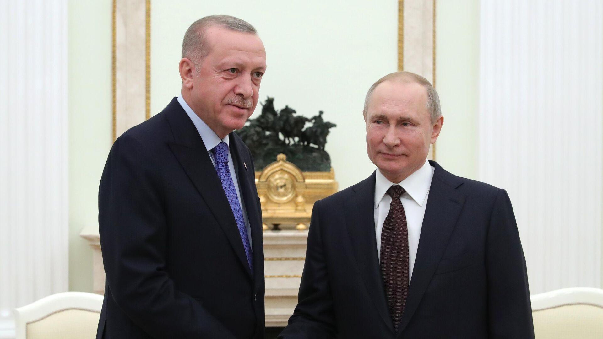 Путин и Эрдоган пообщаются один на один на переговорах в Сочи
