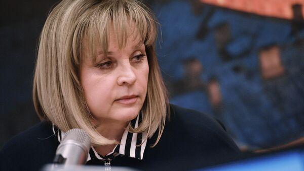Глава Центральной избирательной комиссии Элла Памфилова на радиостанции Эхо Москвы