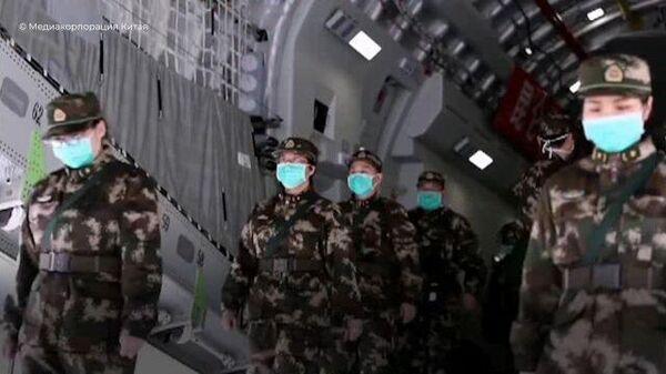 Борьба с коронавирусной пневмонией COVID-19 в Китае