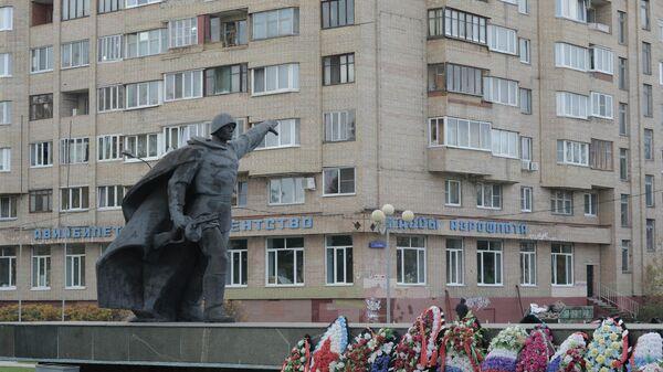 Памятник неизвестному солдату на площади Славы в подмосковной Балашихе