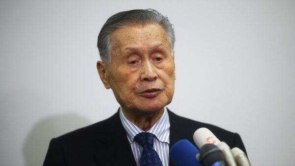 Глава оргкомитета Олимпийских игр 2020 года в Токио Ёсиро Мори
