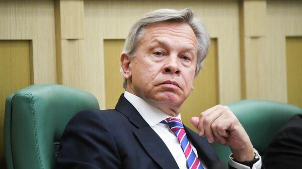 """Пушков жестко ответил на заявление Зеленского о """"наглой"""" внешней политике"""