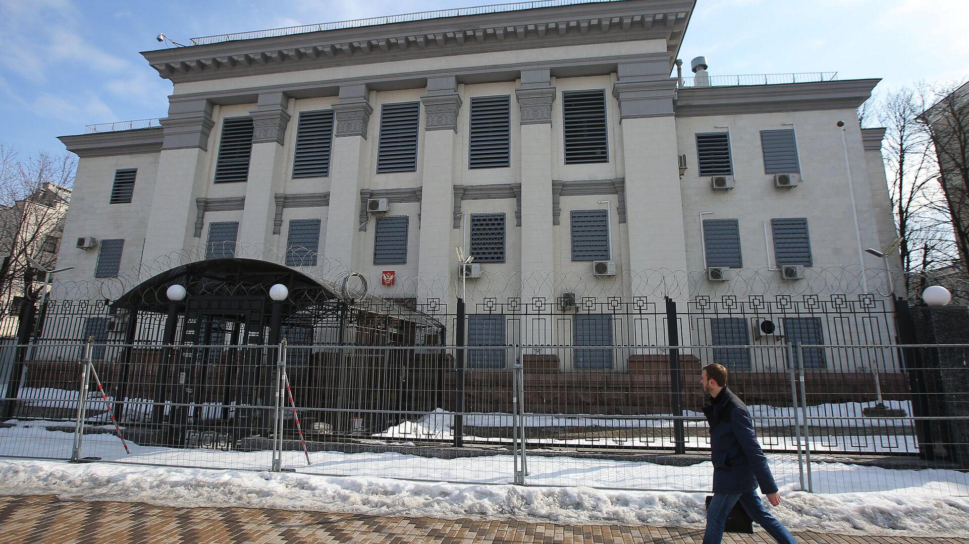 Здание посольства Российской Федерации в Киеве - РИА Новости, 1920, 29.04.2021