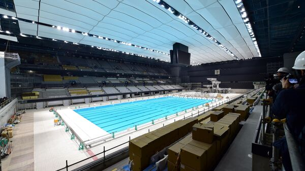 Олимпийский бассейн в Токио